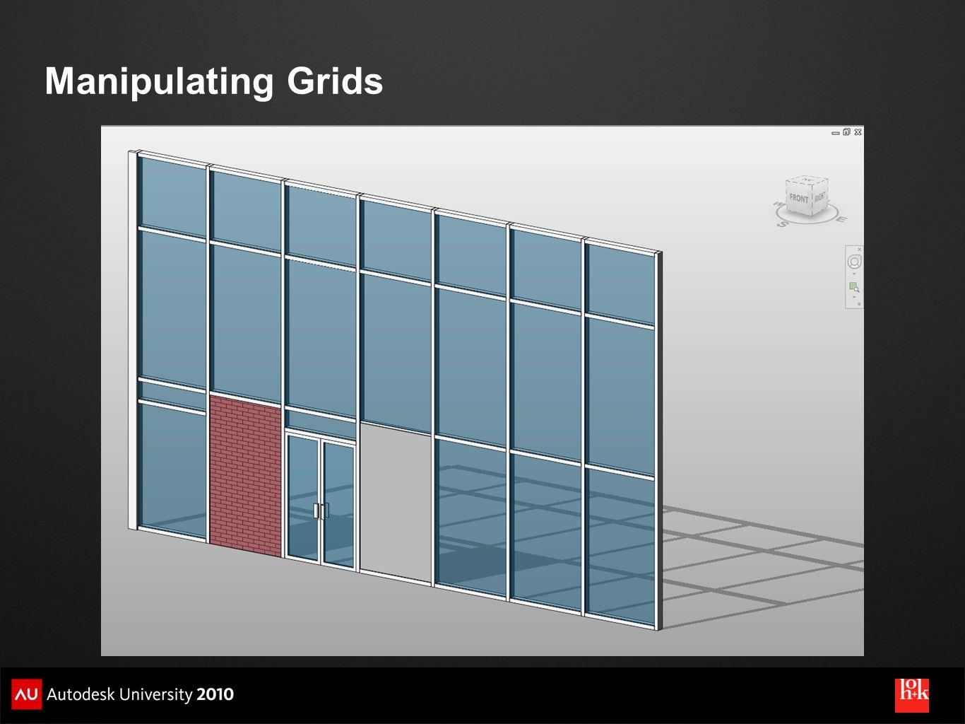 Manipulating Grids