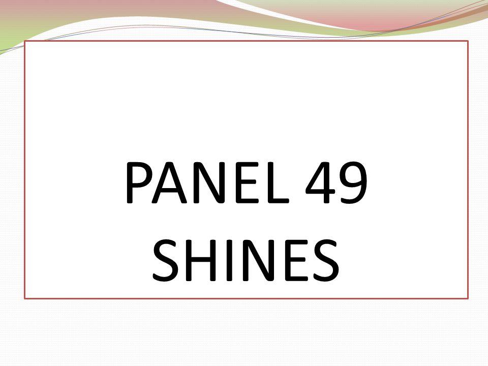 PANEL 49 SHINES