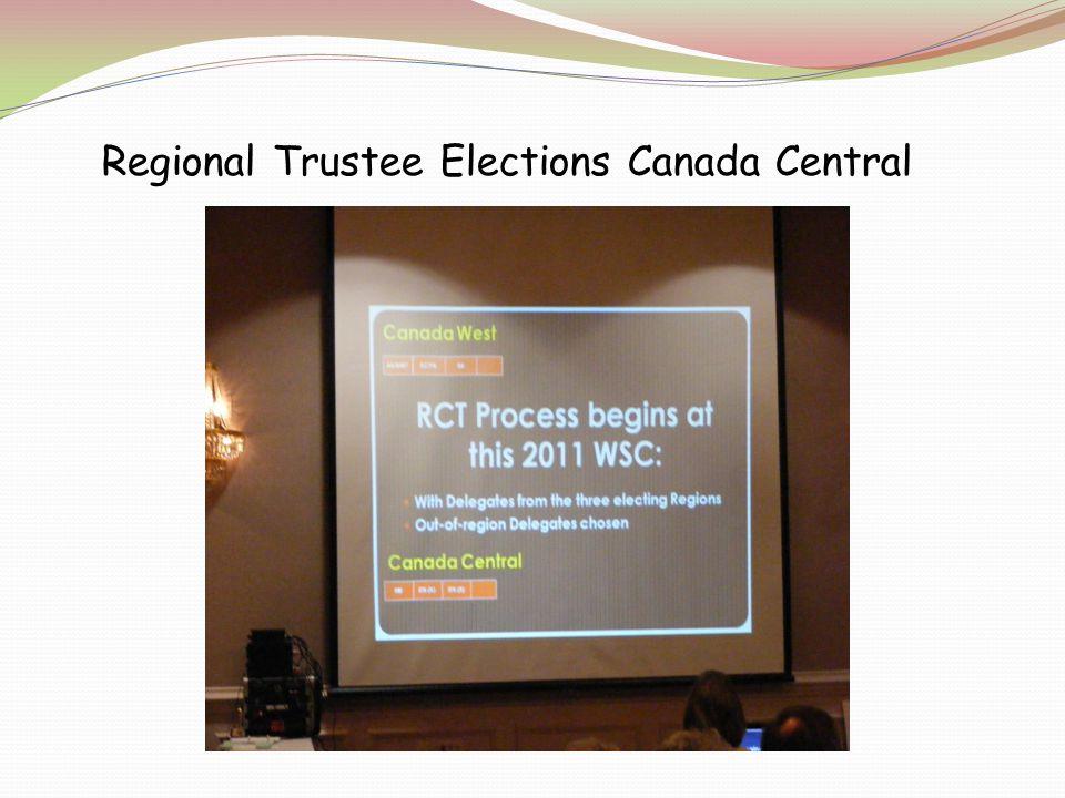 Regional Trustee Elections Canada Central