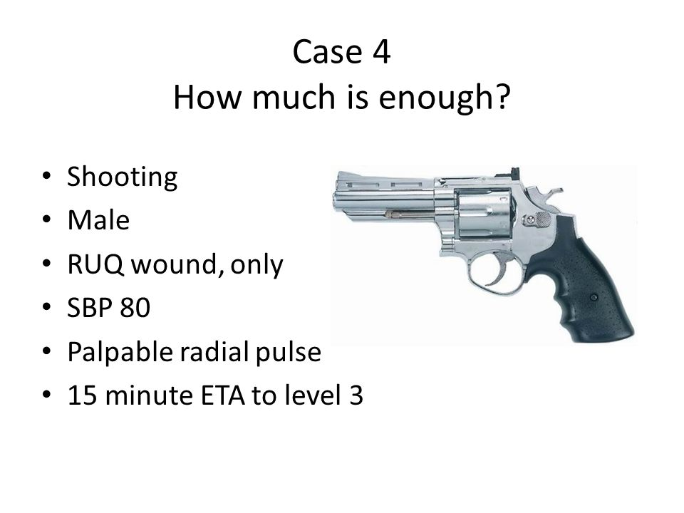 Case 5 What to say.