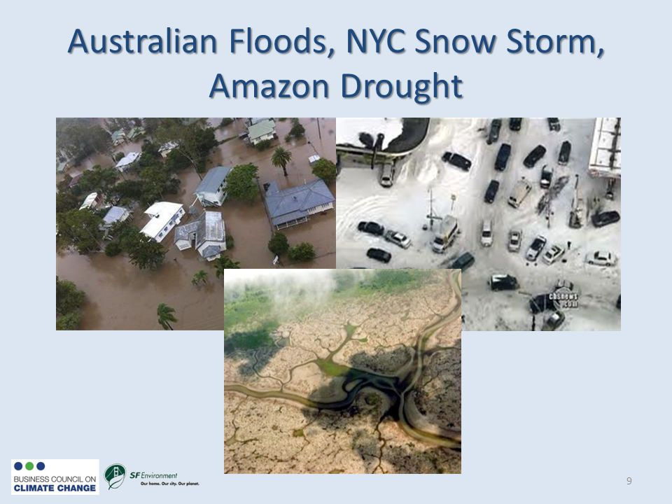 Australian Floods, NYC Snow Storm, Amazon Drought 9
