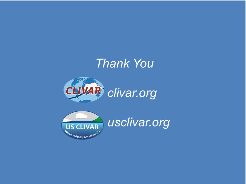 Thank You clivar.org usclivar.org