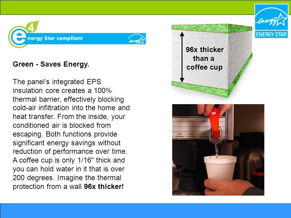 Green - Saves Energy.