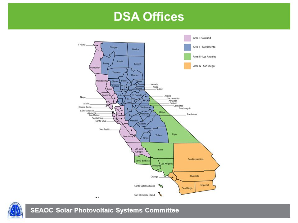 SEAOC Solar Photovoltaic Systems Committee DSA Offices
