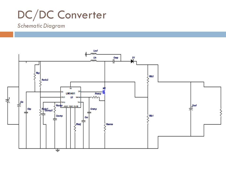 DC/DC Converter Schematic Diagram