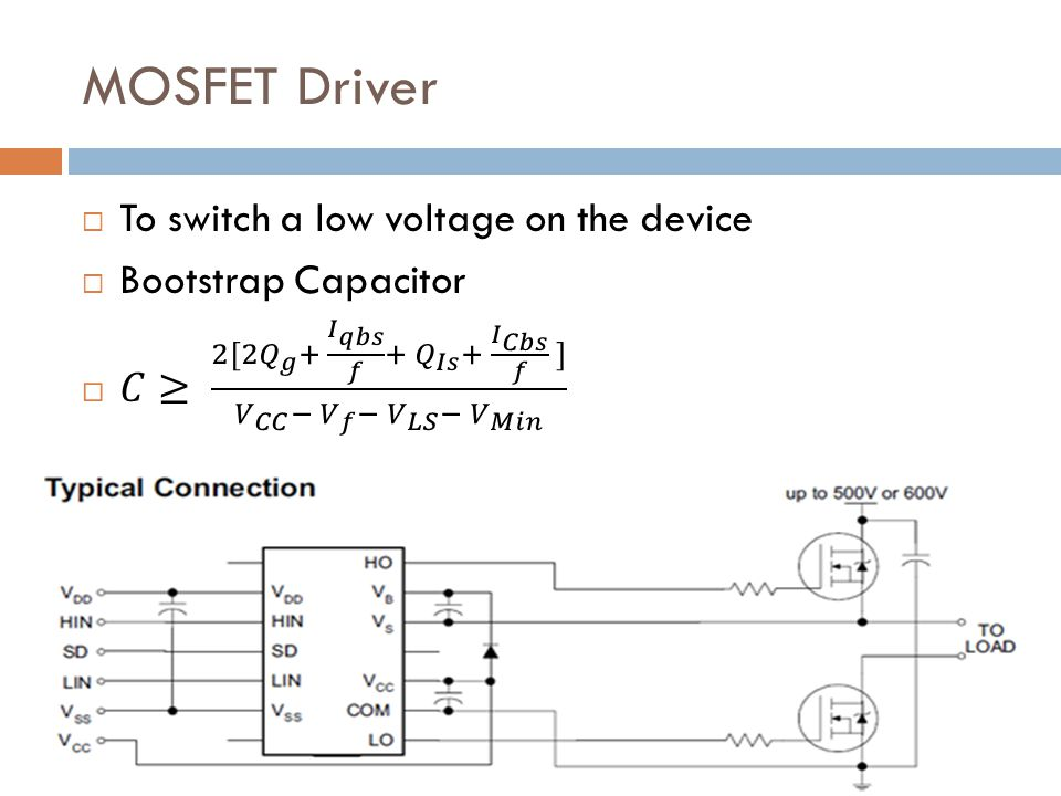 MOSFET Driver