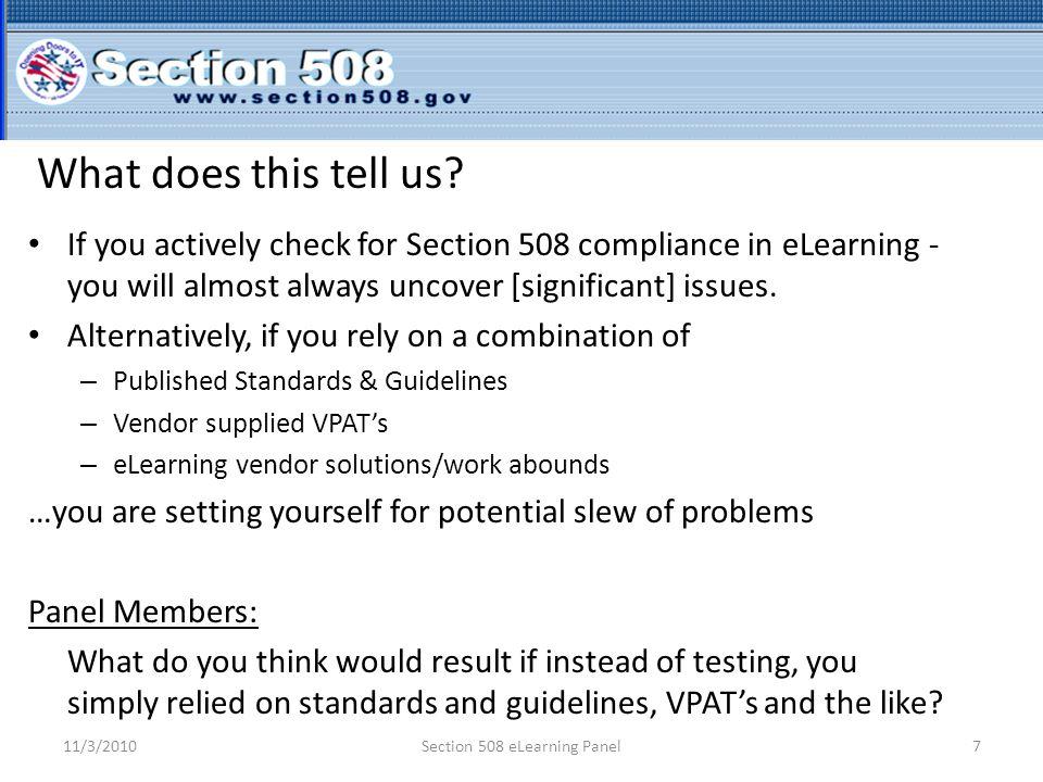 508 Coordinators - Active Validation.