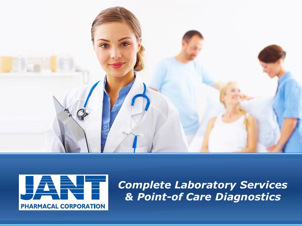 Complete Laboratory Services & Point-of Care Diagnostics