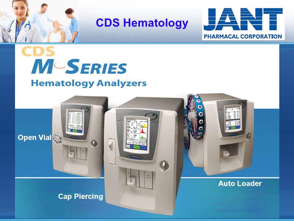 CDS Hematology Open Vial Cap Piercing Auto Loader