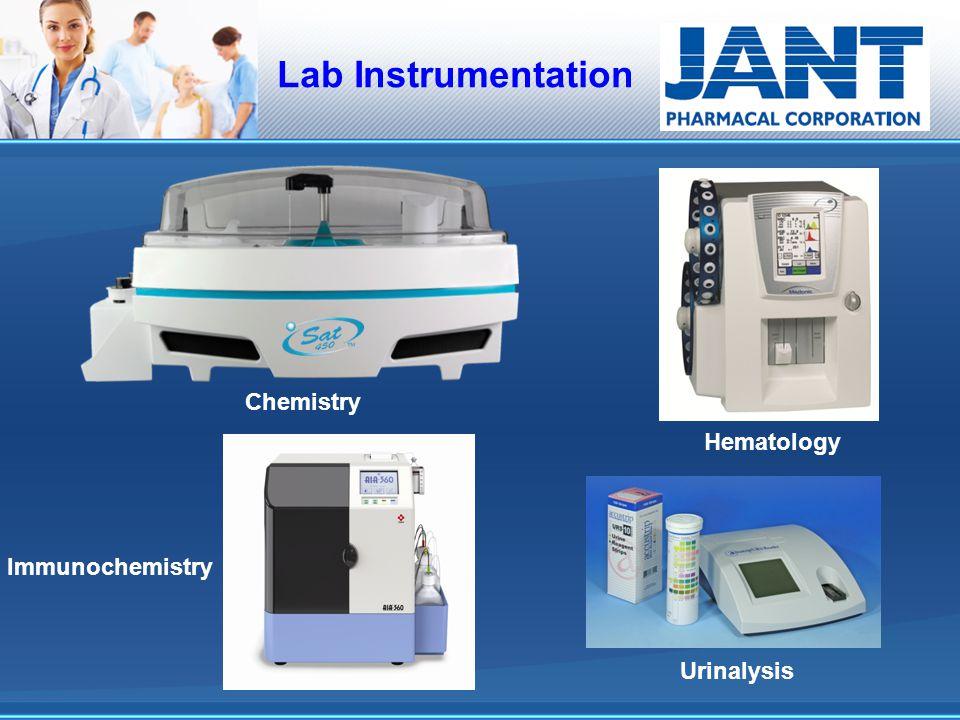 Lab Instrumentation Chemistry Hematology Immunochemistry Urinalysis