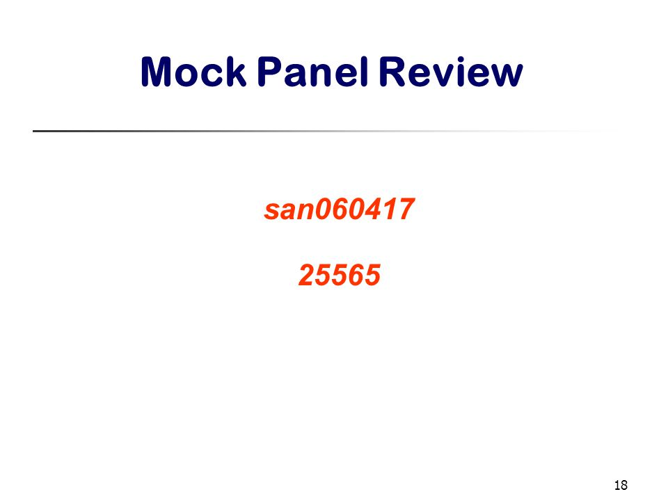 18 Mock Panel Review san060417 25565