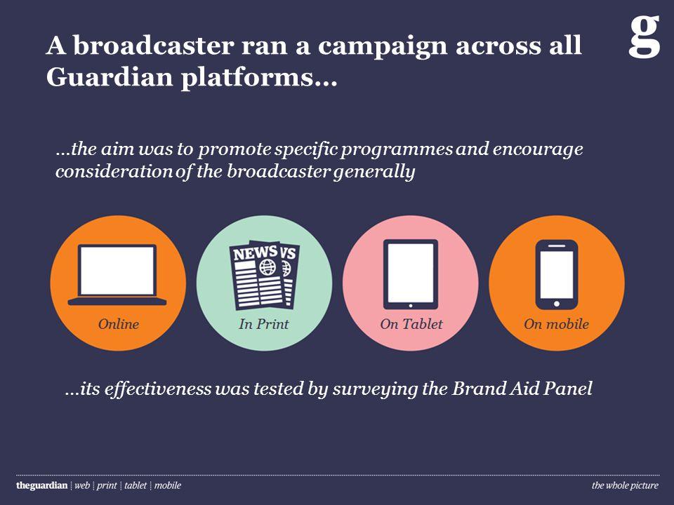 The impact of advertising cross media