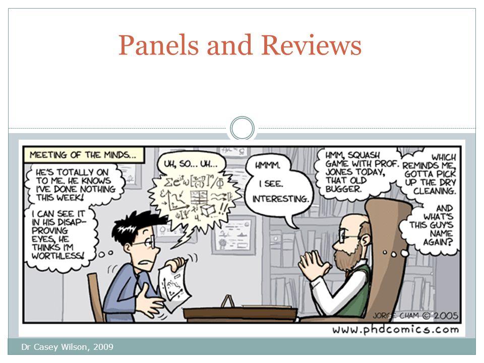 1 st year Panels Dr C.