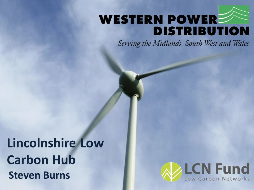 Lincolnshire Low Carbon Hub Steven Burns