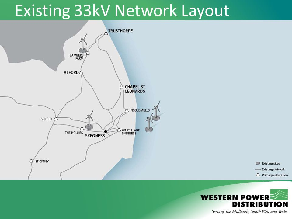 Existing 33kV Network Layout