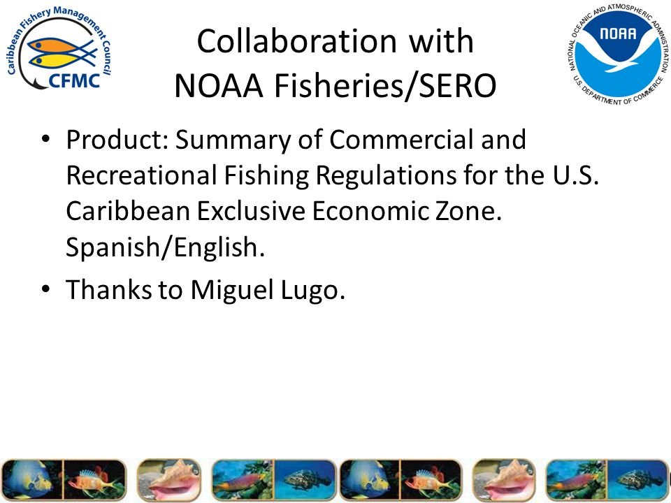 Product: Summary of Commercial and Recreational Fishing Regulations for the U.S.