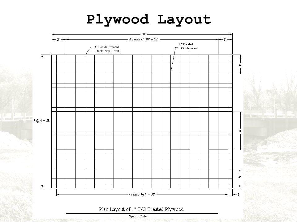 Plywood Layout