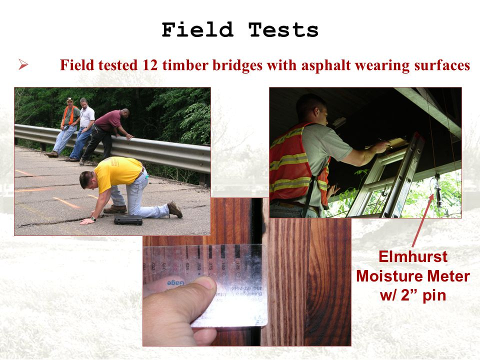 Test Results 0.10 in. Limit Suggested by Timber Manual