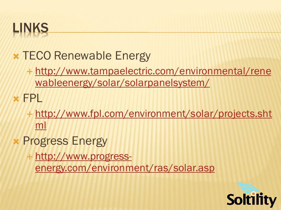 North Carolina State University www.dsireusa.org DOE http://www1.eere.energy.gov/solar/photovoltaics_ program.html http://www1.eere.energy.gov/solar/photovoltaics_ program.html National Renewable Energy Laboratory (NREL) www.nrel.gov