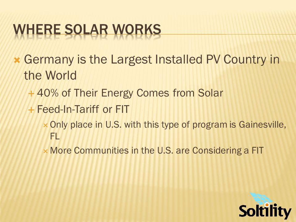 Solar Tour - Florida Tampa Bay Area