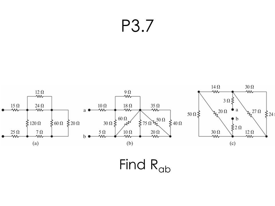 P3.7 Find R ab