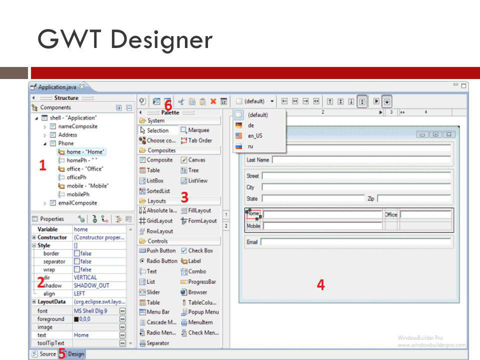 GWT Designer