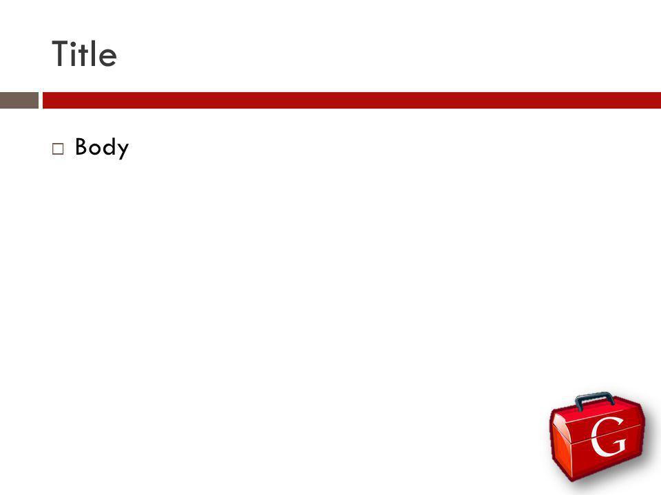 Title Body