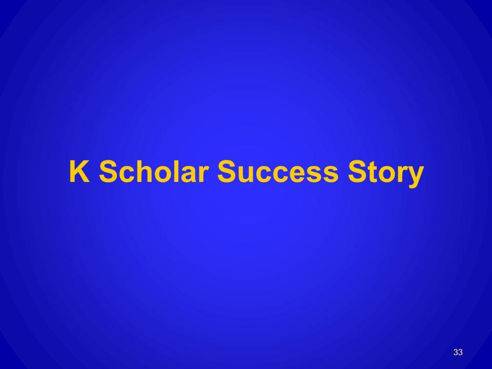 K Scholar Success Story 33