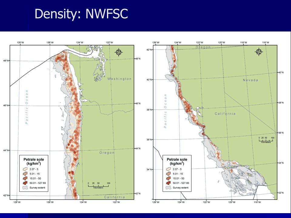 Density: NWFSC