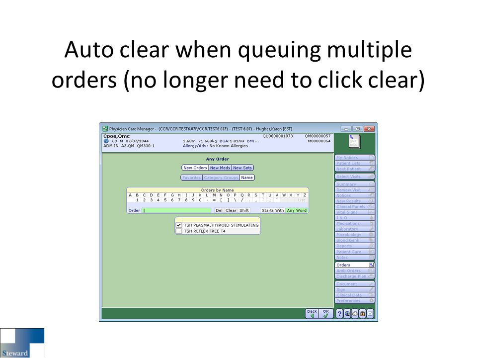 Auto clear when queuing multiple orders (no longer need to click clear)