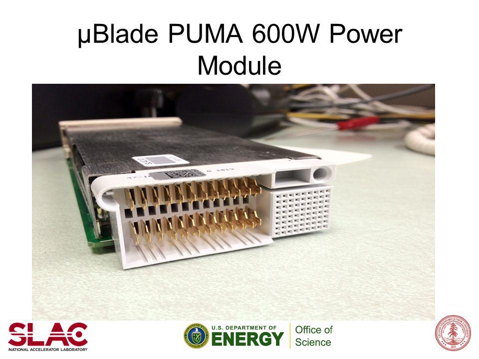 μBlade PUMA 600W Power Module