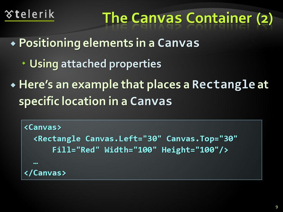 3.Using Tabs create the previous XAMLs in tab controls 4.