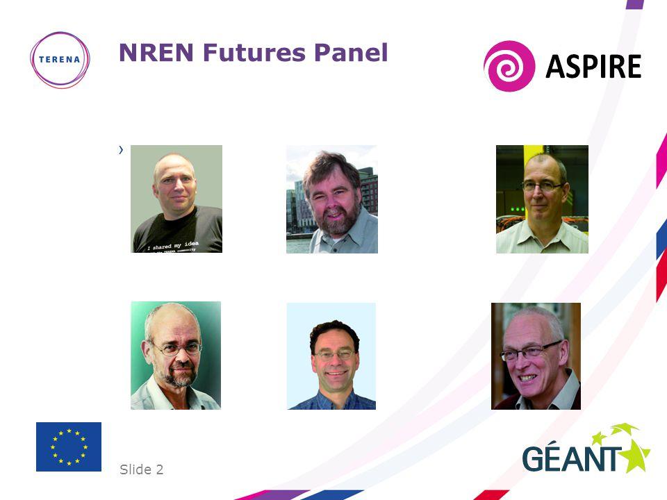 Slide 2 NREN Futures Panel