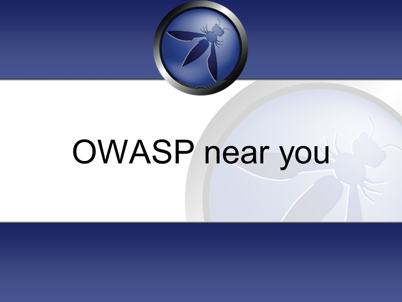 OWASP near you