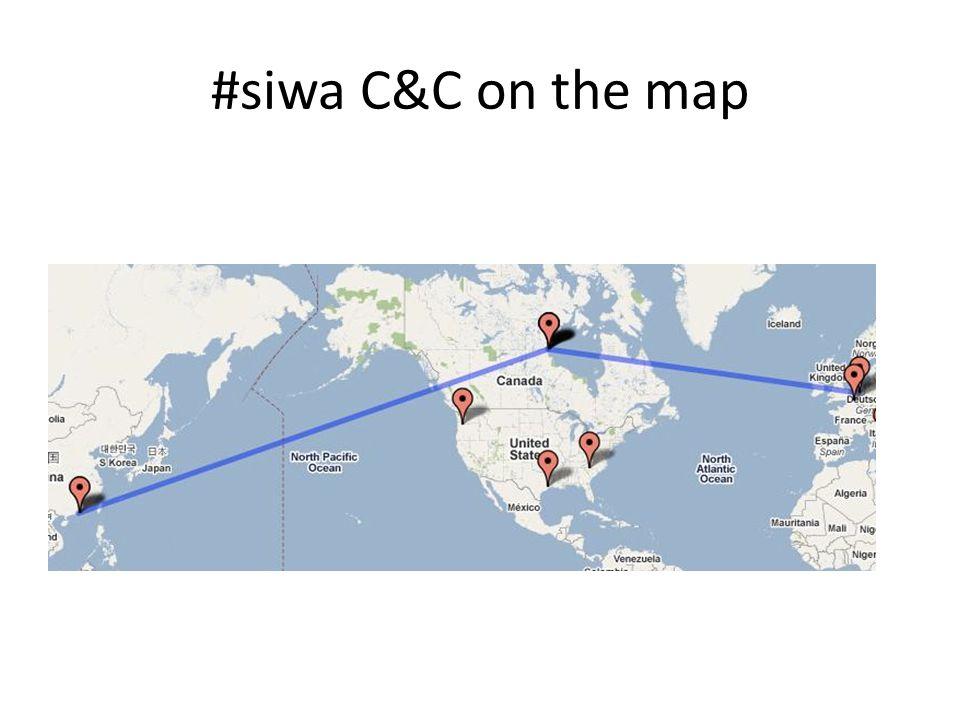 #siwa C&C on the map