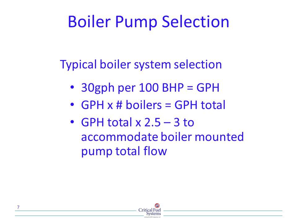 Suction Pump Set Contruction 18 Pump/motor sets Control panel(s) Gauges Priming funnel Relief valves Flow switch Suction strainer(s) Reservoir base w/leak switch