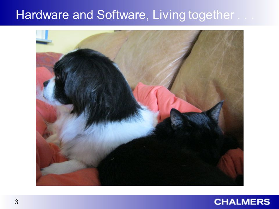 Hardware and Software, Living together... 3