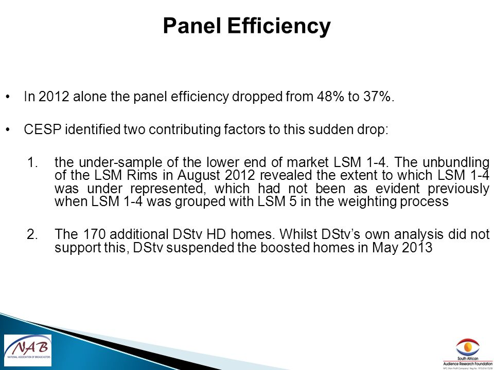 In 2012 alone the panel efficiency dropped from 48% to 37%.