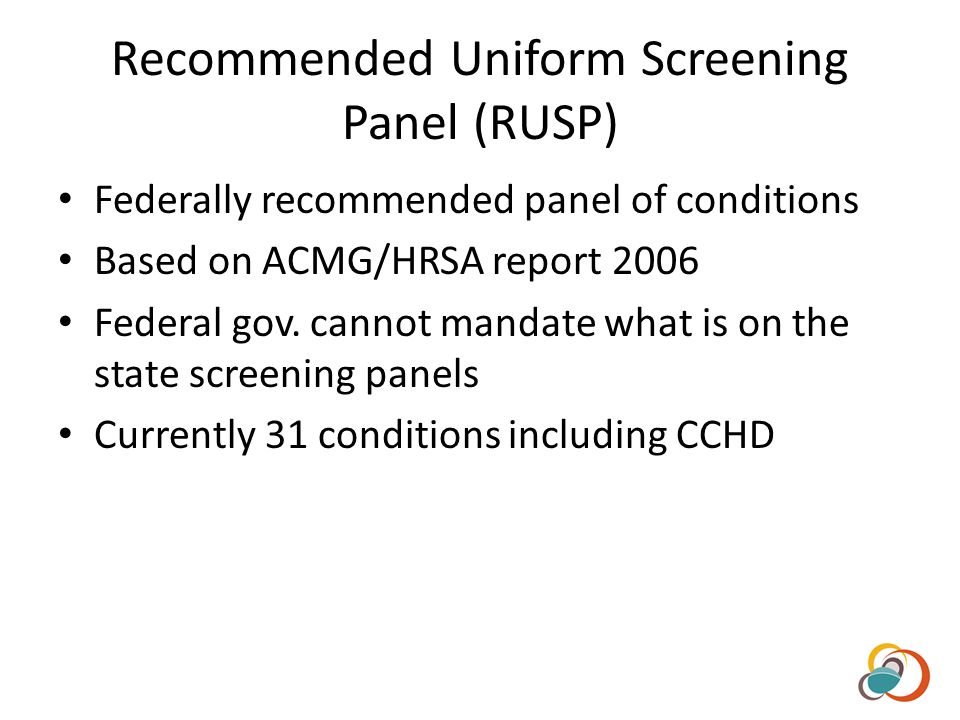 ACMG Recommended Panel