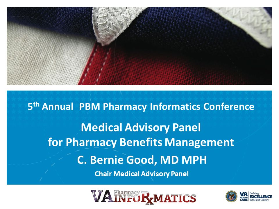 VETERANS HEALTH ADMINISTRATION Discuss the structure of MAP/VPE/PBM Clinical Pharmacy Staff Discuss role of MAP with formulary management – Challenges, opportunities, issues, policies Discuss MAP/PBM drug safety initiatives Objectives 3
