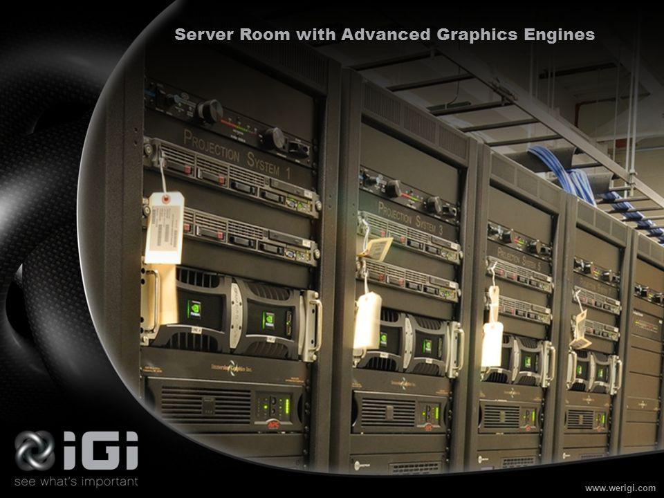 www.werigi.com Server Room with Advanced Graphics Engines