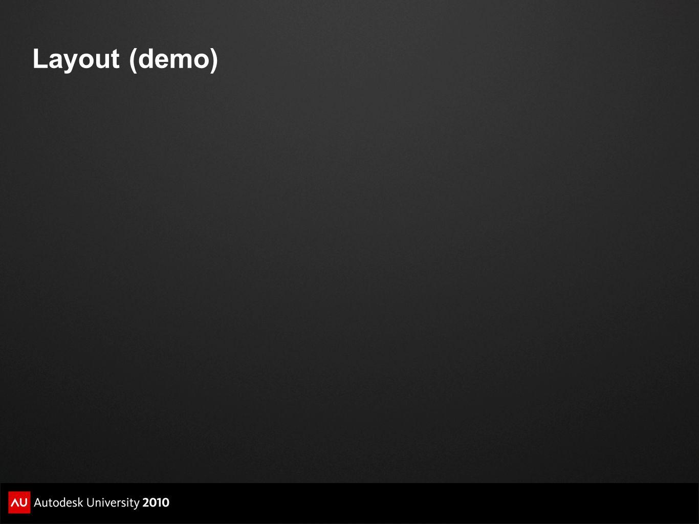 Layout (demo)