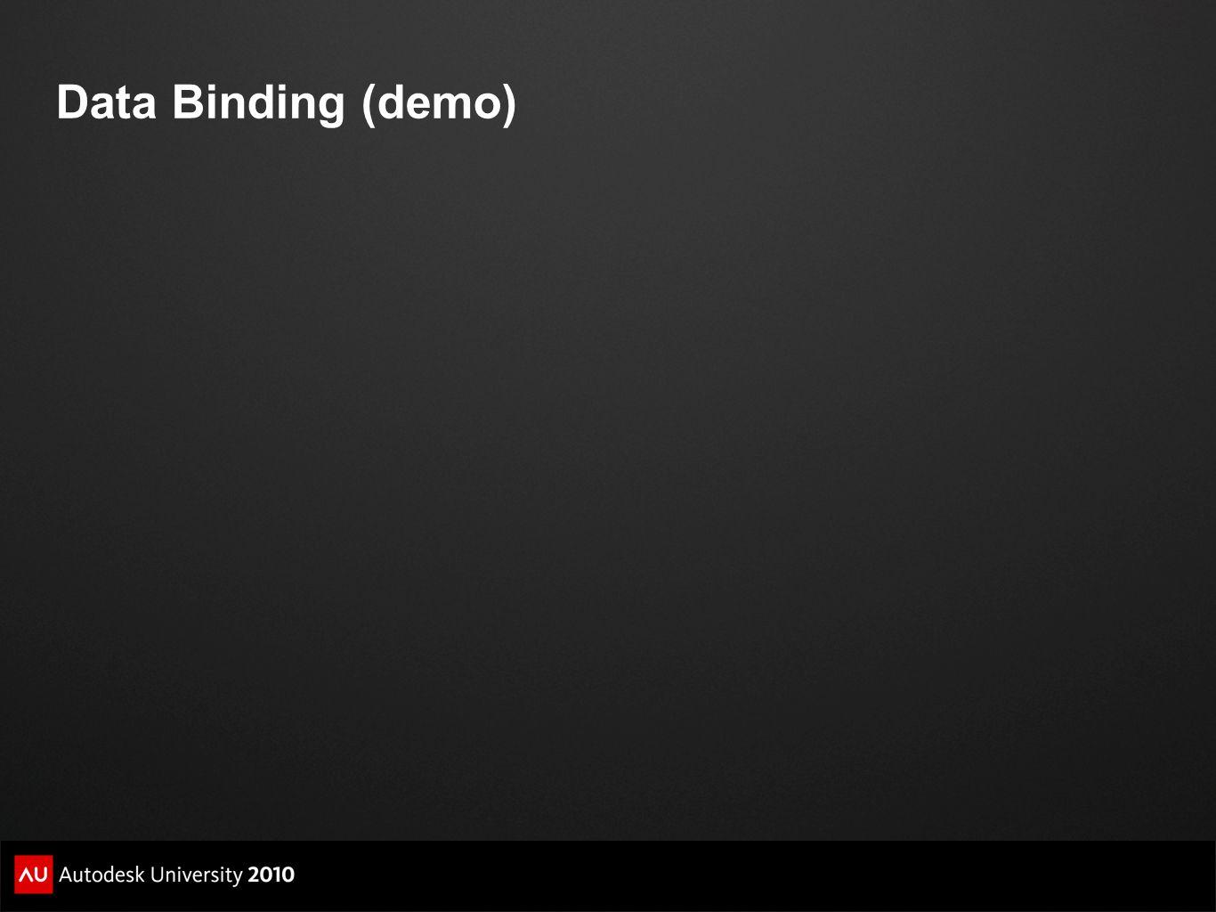 Data Binding (demo)