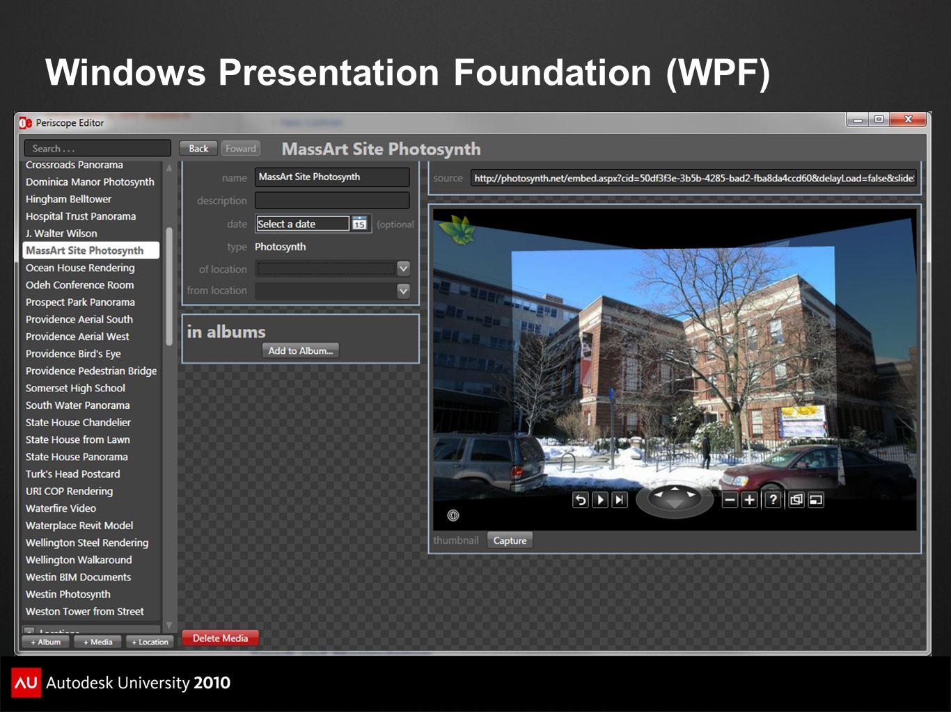Windows Presentation Foundation (WPF)
