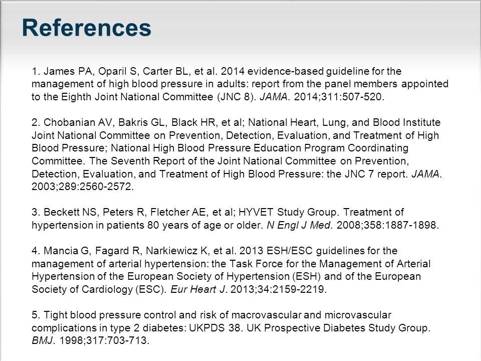 References 1.James PA, Oparil S, Carter BL, et al.