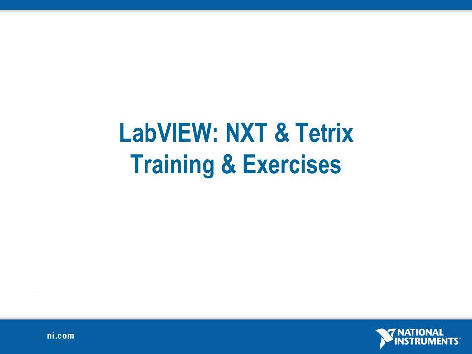 13 Loops Repeat Code NXT-G LVGen. Prog.LV NXTLV TetrixNXT ReviewResources