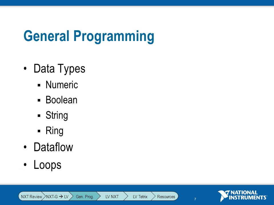 8 Data Types: Numeric Whole Numbers (0,2,-10, …) Decimal Numbers (2.2, 12.3, -15.1, …) Which takes up more memory.