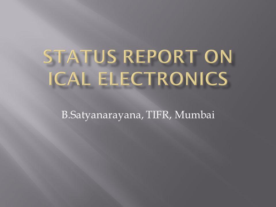 B.Satyanarayana, TIFR, Mumbai