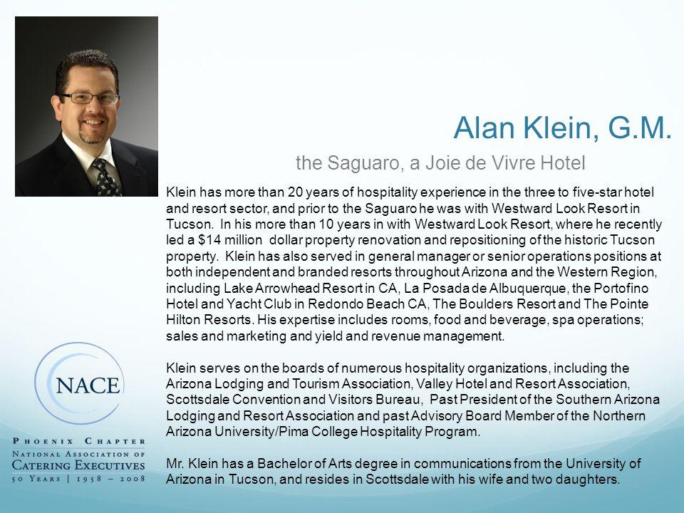 Alan Klein, G.M.