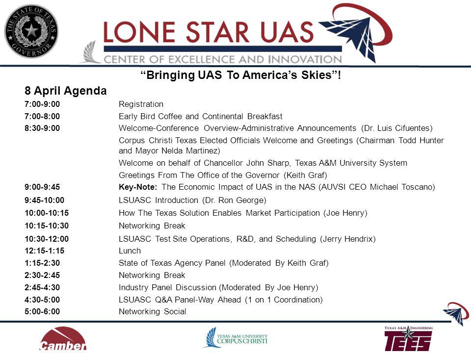 Bringing UAS To Americas Skies.